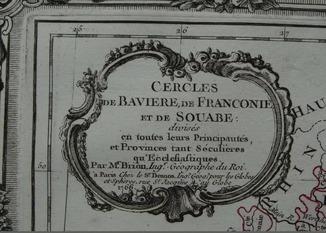 1766 Бавария Богемия Бумана Верже