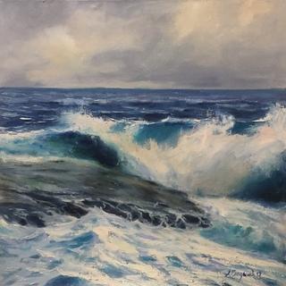 Морской пейзаж. Масло холст
