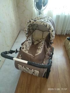 Дитяча коляска LUX, трансформер 3в1