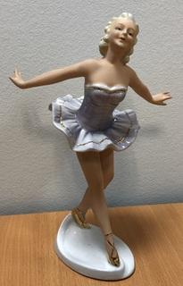Балерина в платье. Старая Германия.