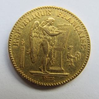 20 франков 1849 г. Франция