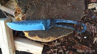 Нож кованый