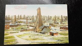 Баку Сабунчі нафтові вишки 1917
