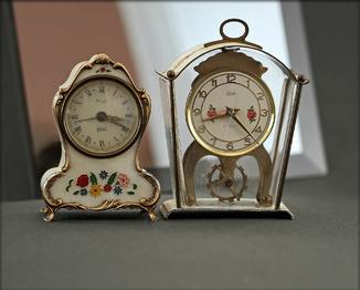 Часы Schatz 8 Day 2 Jewels и часы Rytime. Made in Germany.