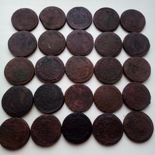 5 коп 1759-1784 (25ш)-1762