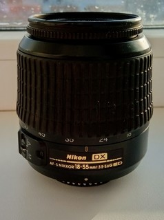 Nikon Af-S DX Nikkor ed 18-55mm 1:3,5-5,6G