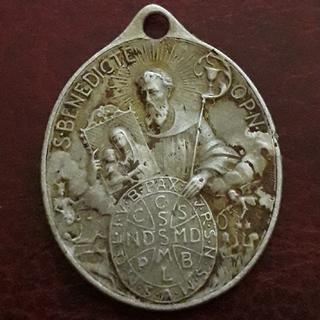 Иконка ладанка старая католическая