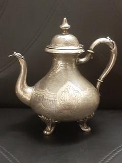 Чайник, кофейник серебро