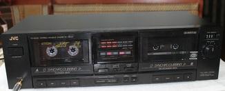 Двух кассетная дека JVC TD-W201