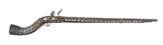 Дульнозарядное ружьё Джезайл (Карамультук), Афганистан, инкрустации перламутром