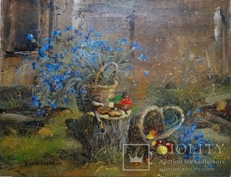 Картина «Осенняя мелодия». Художник Ellen ORRO. холст/акрил. 50х40, 1999 г.