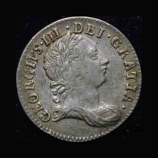 Великобритания 3 пенса 1762