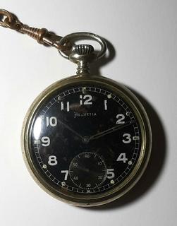 Часы карманные  Helvetia DH ,Вермахт