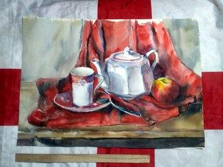 Чайный натюрморт. 58*42см