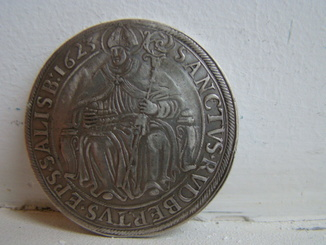 Талер 1623 г.  Епископство Зальцбурга