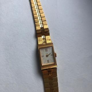 Часы Луч с позолоченным браслетом СССР женские