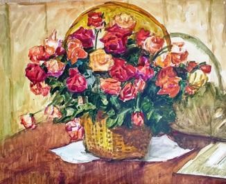 Красные розы .Борис Винтенко