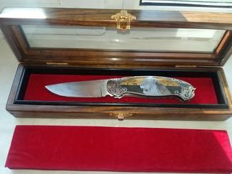 Коллекционный складной нож Sergio Consoli