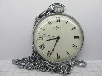 Часы Луч карманные. Мех. 2209. Идут.