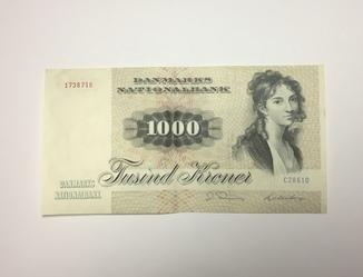 1000 крон Дания