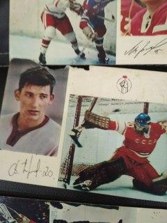 Легендарная сборная по хоккею