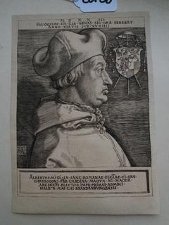1523 [ALBRECHT DÜRER] Кардинал Альбрехт Брандендбургський (Великий Кардинал)