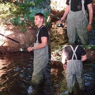 Заброды(Германия, водонепроницаемые от костюма SBA-2)