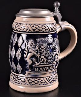Бавария, коллекционная пивная кружка Gerz , Германия