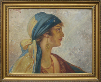 Цыганка. 1932 г.