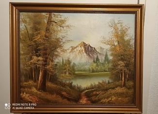 Горный пейзаж 1930-70хх