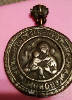 Икона нательная старообрядческая 17-18 век