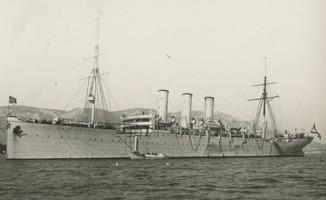 Военный корабль Российской Империи в Тулоне