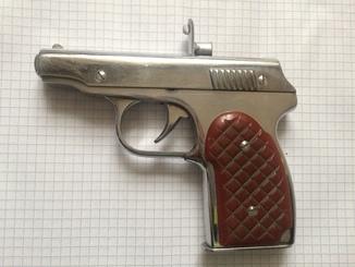 Зажигалка пистолет.бензин