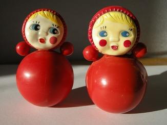 Неваляшка Детская игрушка СССР