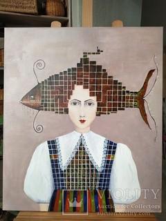 Женщина рыба