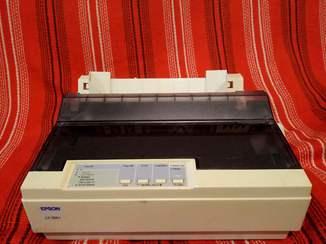 Принтер матричный А4 Epson LX-300+ Отличный