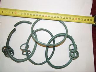 Четыре браслета унетицкого типа
