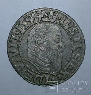 1 грош 1544 года