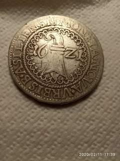 Талер Базель 1621г