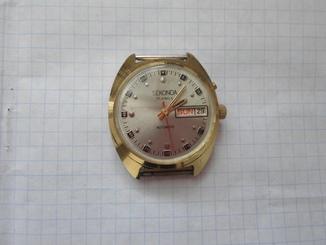 2144..часы слава автоподзавод экспорт секонда на ходу