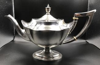 Чайник серебро 925