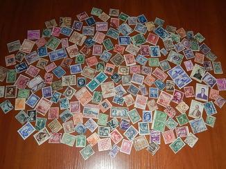 Коллекция старинных почтовых марок разных стран мира 187 шт. Одним лотом.
