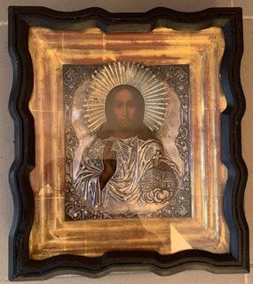 Икона Господь Вседержитель ХІХ век