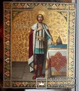 Икона Святой Князь Александр Невский.