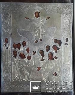 Вознесение Господне. Серебро 84 пробы. 1879 год.