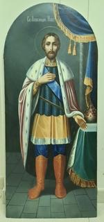 Икона Александр Невский.