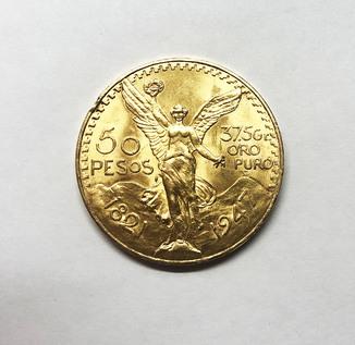 50 песо 1947 года. Мексика.