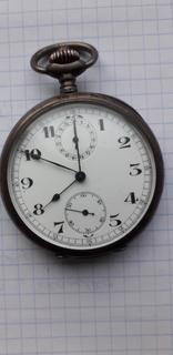 Часы хронограф серебряные