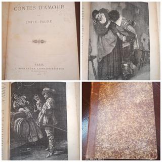 1882 год Любовные рассказы Эмиля Фора. 70+ гравюр!