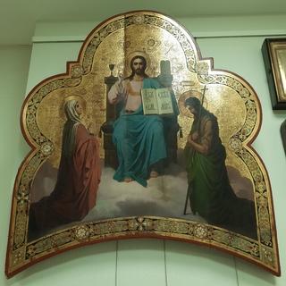 Икона Спас на престоле.